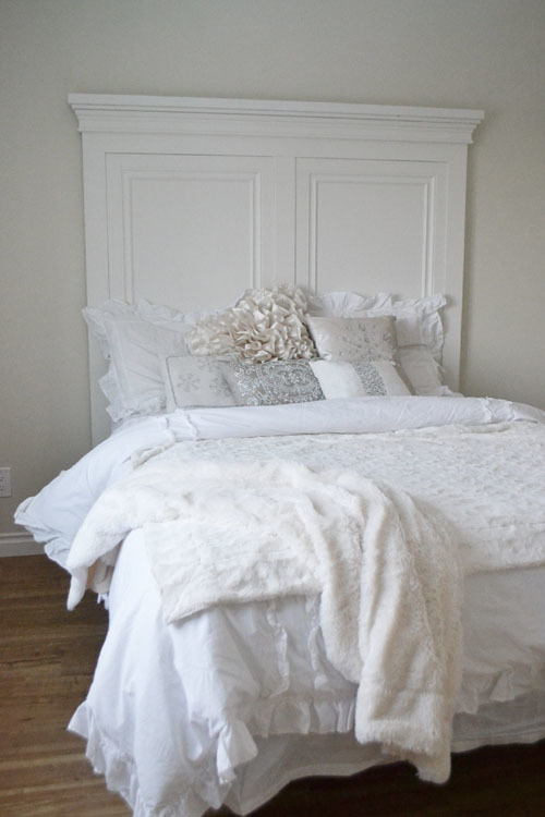 Ana white tall panel headboard queen diy projects for Queen headboard ideas