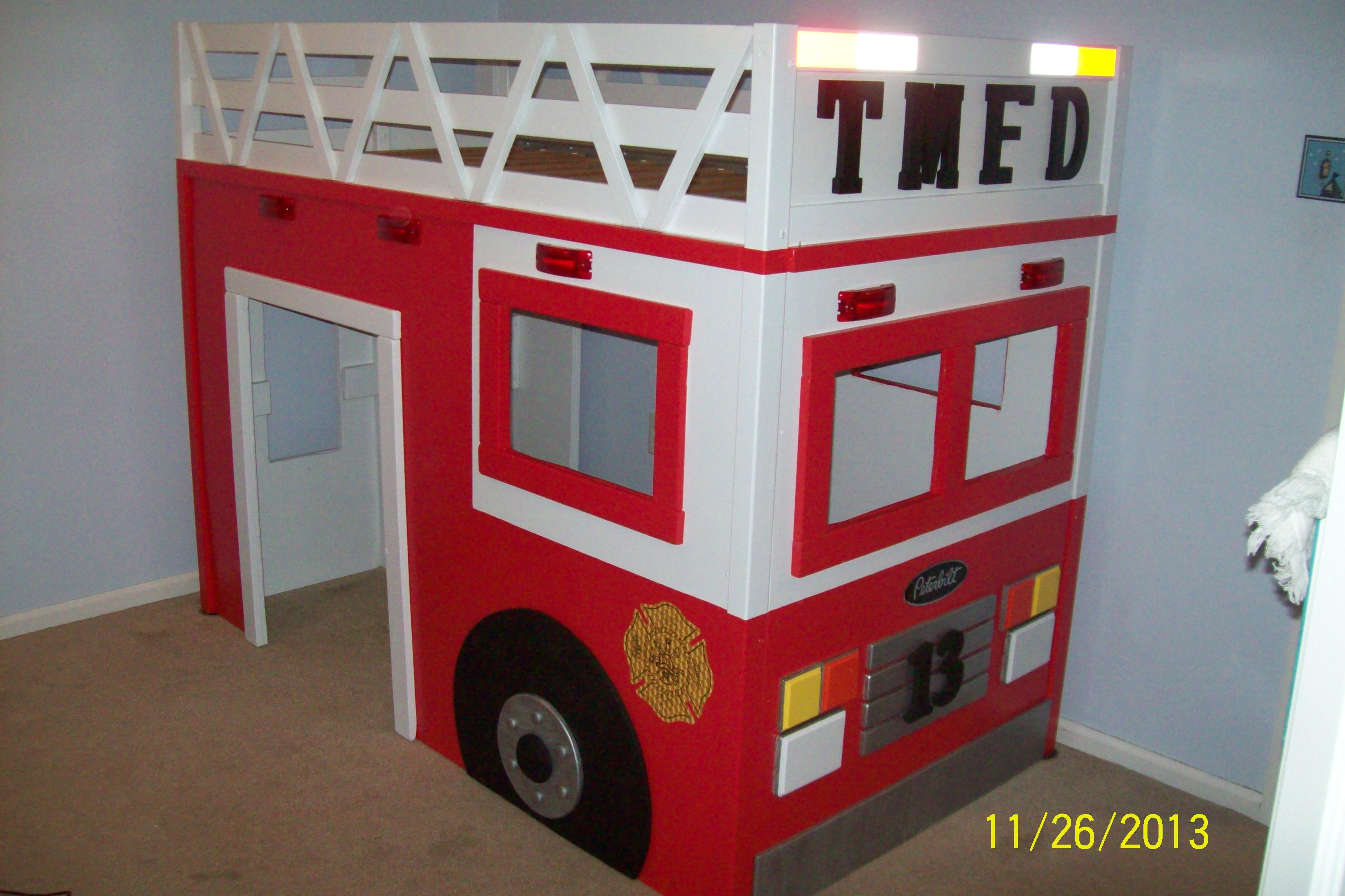 Ana White | Firetruck Loft Bed - DIY Projects