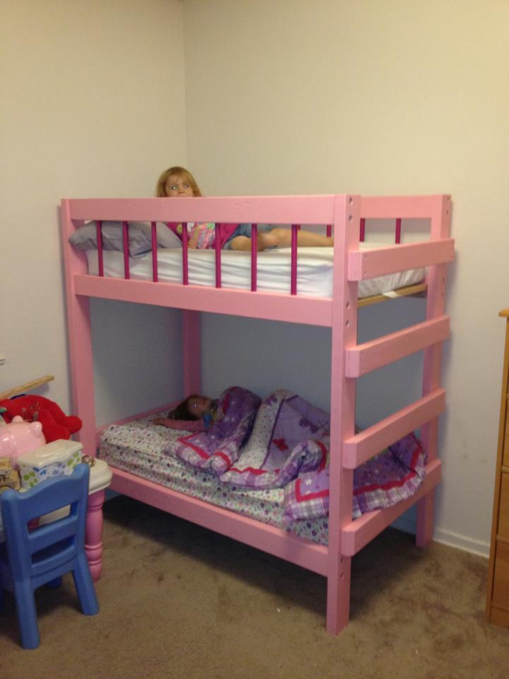 Ana White Toddler Bunk Bed Diy Projects