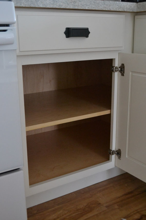 How To Build A Blind Corner Base Kitchen Cabinet   Step By Step Plans From  Ana White.com