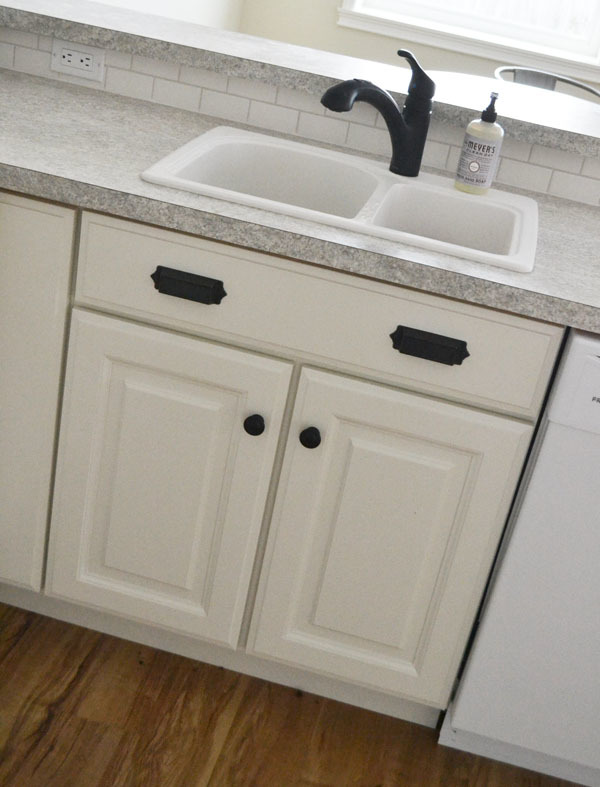 "Kitchen Sink Cabinet ana white | 30"" sink base - momplex vanilla kitchen - diy projects"
