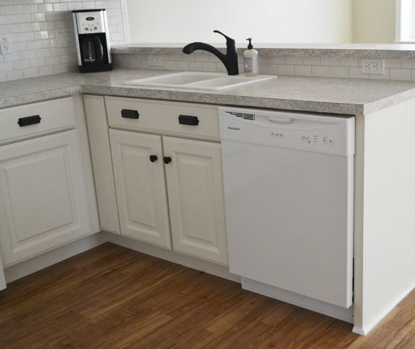 kitchen sink base cabinet white 30 quot sink base momplex vanilla kitchen diy 10476