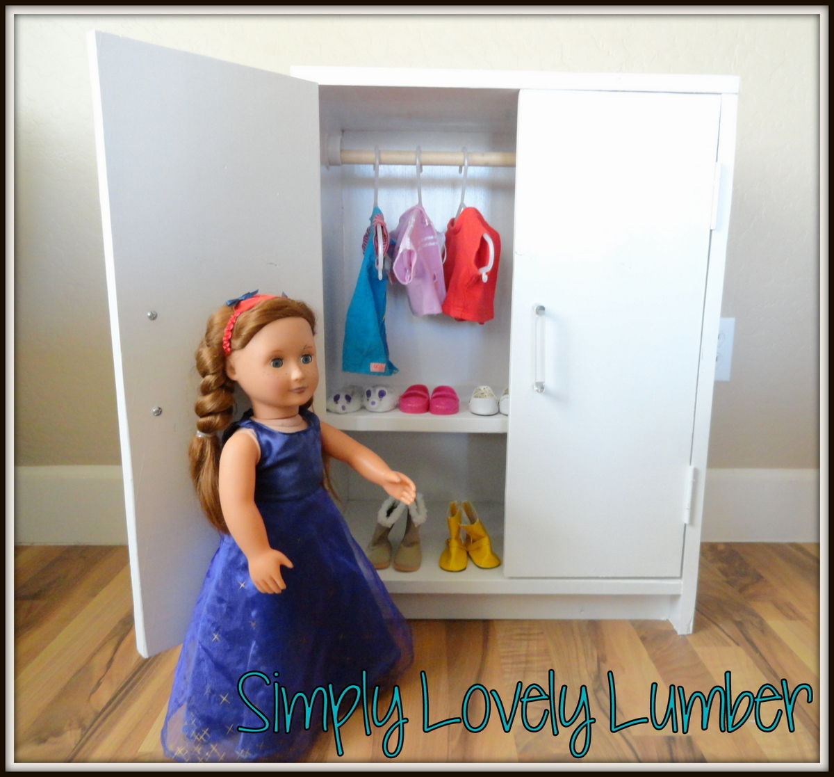 Ana White Americna Girl Closet Diy Projects