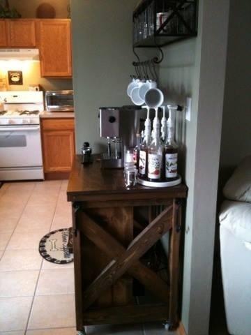 Coffee Bar With Kitchen Island Ana White