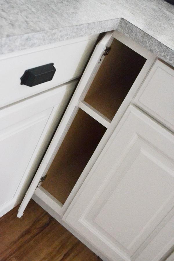 6 Filler Tray Base Cabinet Momplex Vanilla Kitchen Ana White