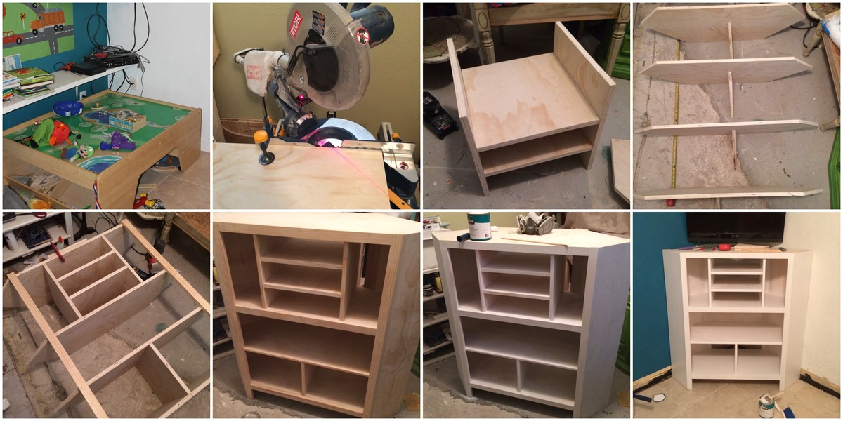 Ana White | Built-In Corner Media Cabinet - DIY Projects