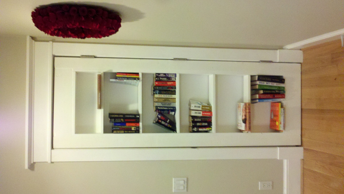 ana diy doorway my white project circular inset bookshelf projects first