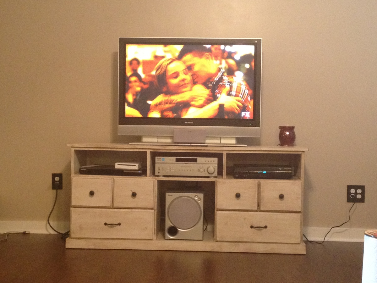 Ana white happy entertainment center diy projects solutioingenieria Image collections