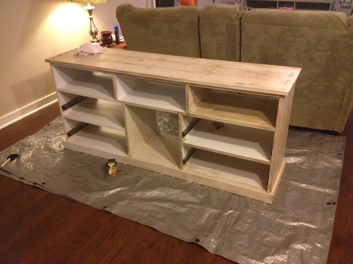 Ana white happy entertainment center diy projects additional photos solutioingenieria Choice Image
