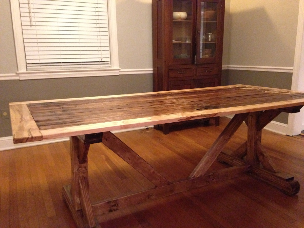 Ana White Reclaimed Farm Table Diy Projects
