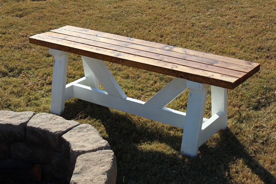 Ana white fire pit benches diy projects Fire pit benches