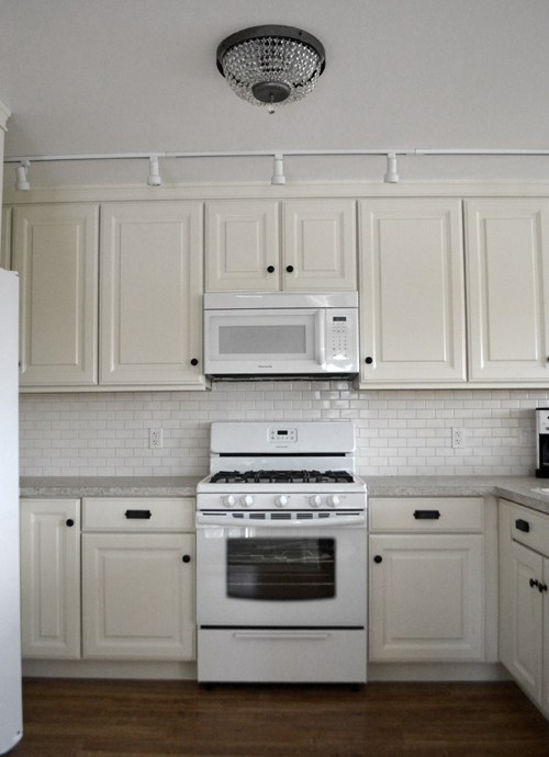 "ana white | 21"" wall kitchen cabinets - momplex vanilla kitchen"