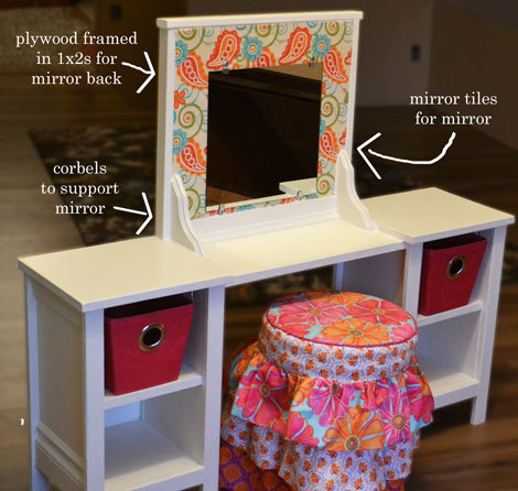 I Just Helped My Friend Jen With Building The Two Towers Easy Part She Created Mirror And Attached It Corbels To Center Isn T