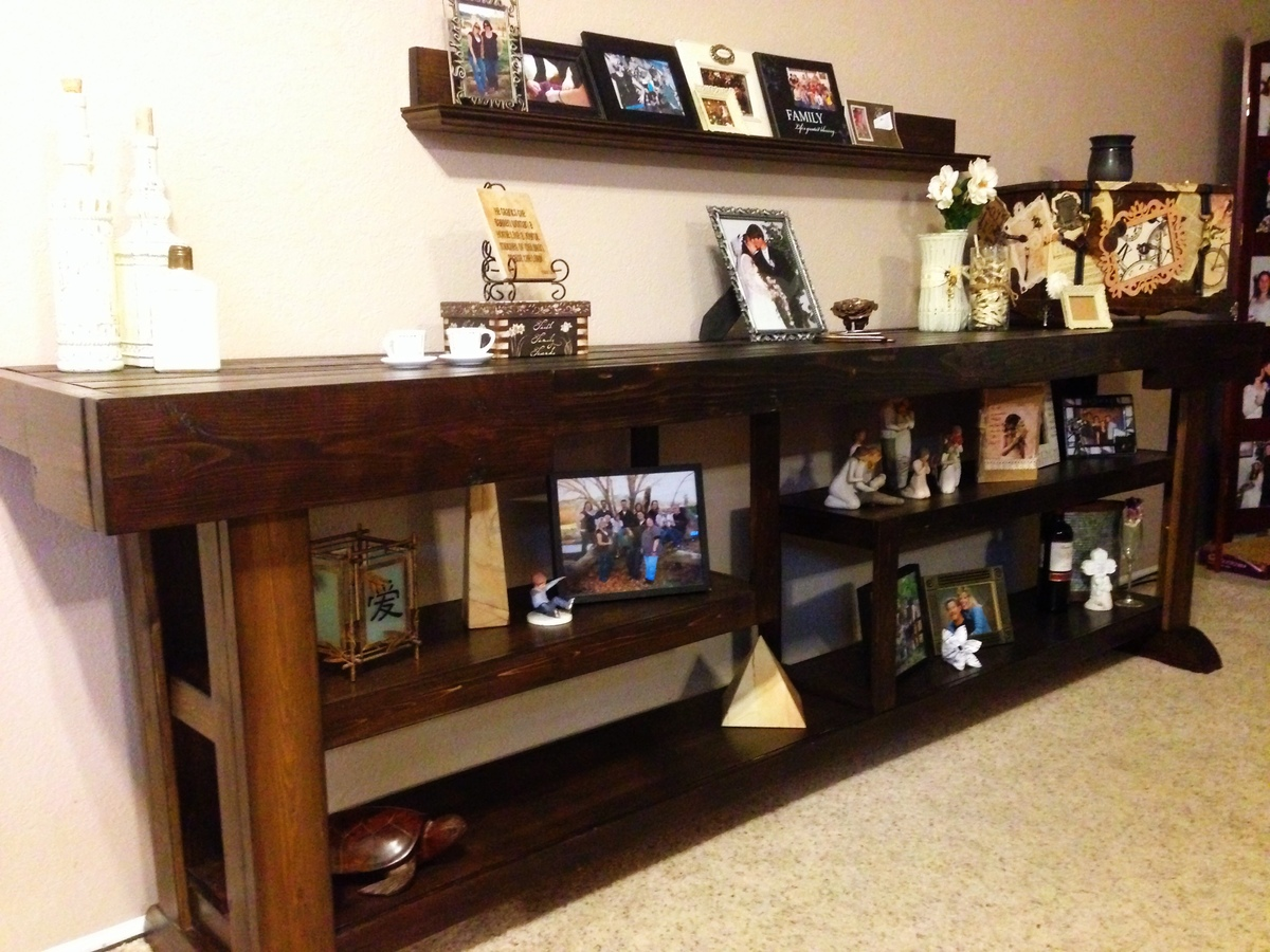 Ana White Living Room Console Table DIY Projects