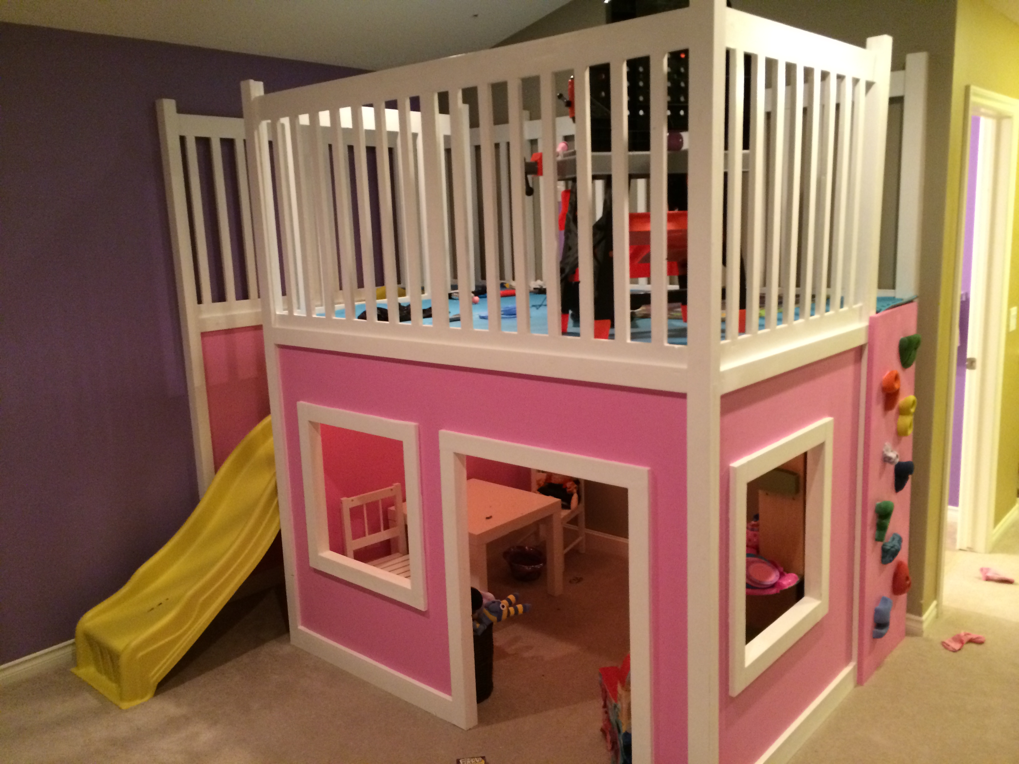 Ana White | Playhouse Loft Bed - DIY Projects