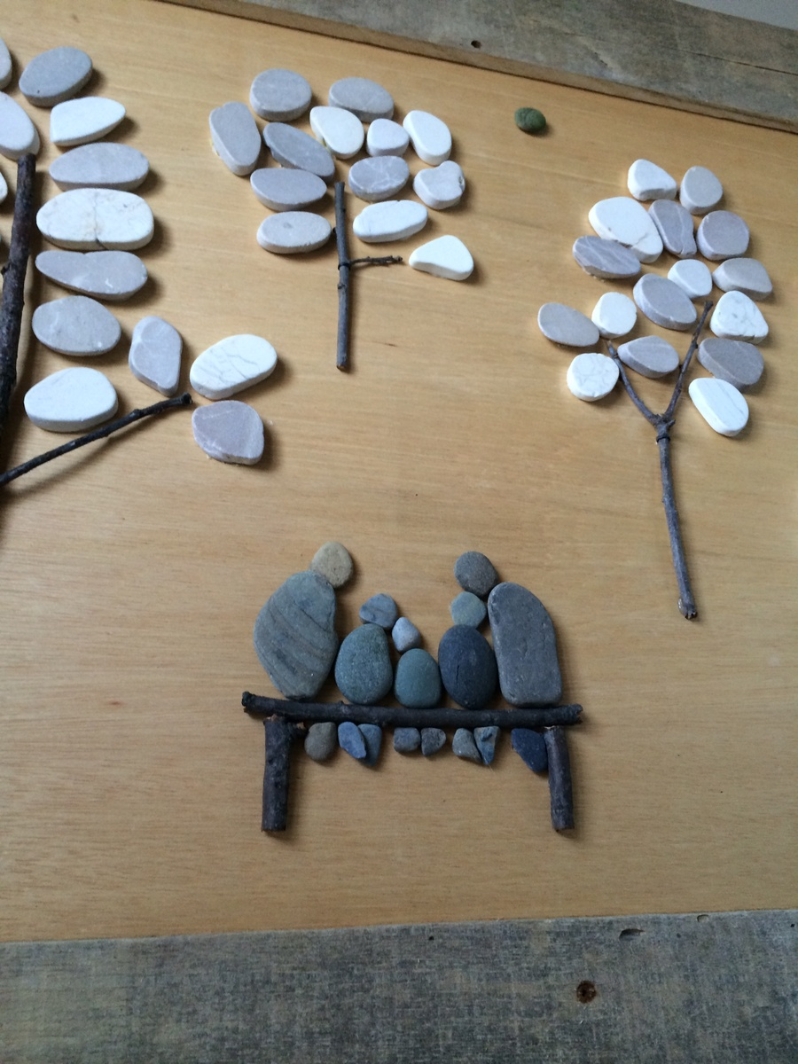 Ana White Pebble Art With Pallet Wood DIY Projects