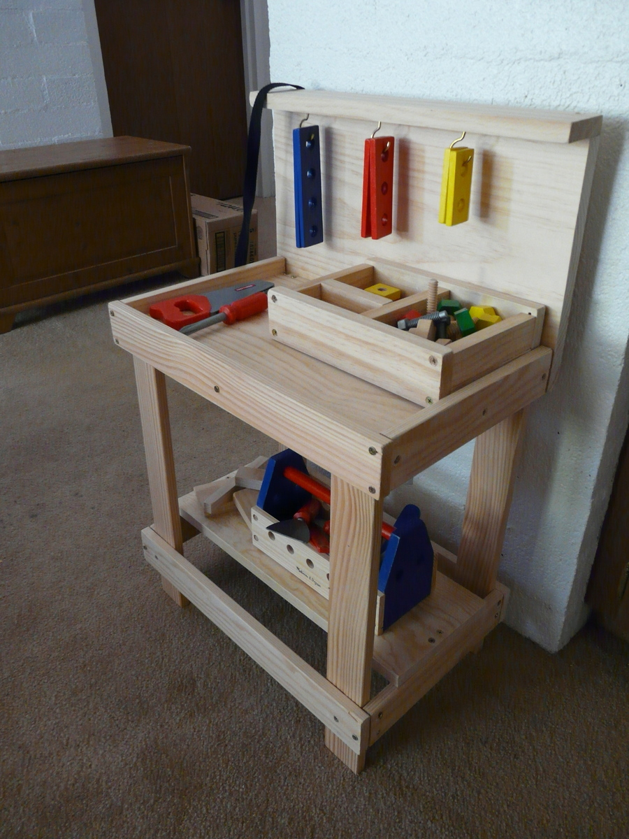 Ana White | Toy Workbench - DIY Projects
