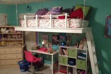 Hanging Loft Bed Ana White