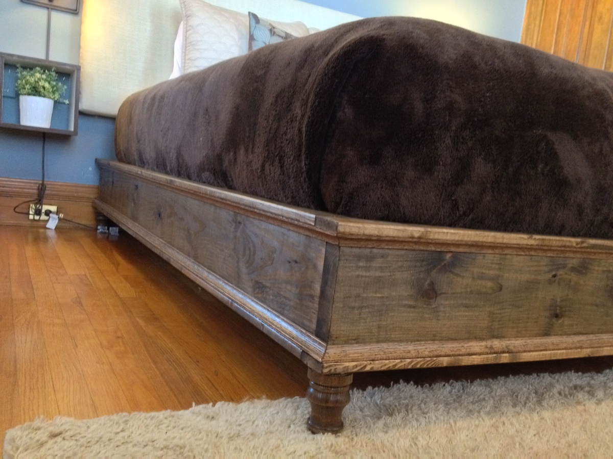 Do it yourself bed frame 28 images do it yourself for Do it yourself bed frame ideas