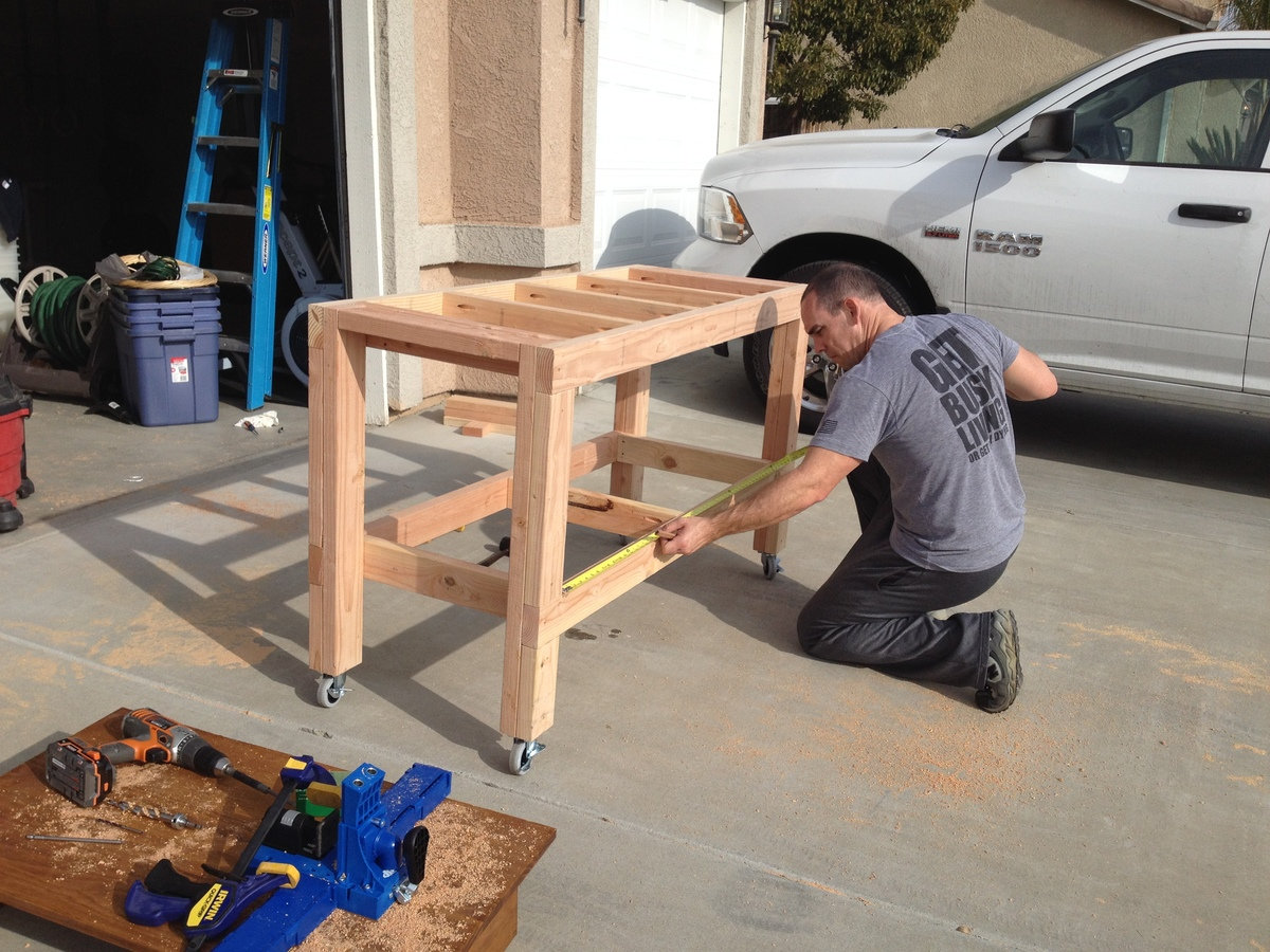 Ana White | Mobile Workbench - DIY Projects