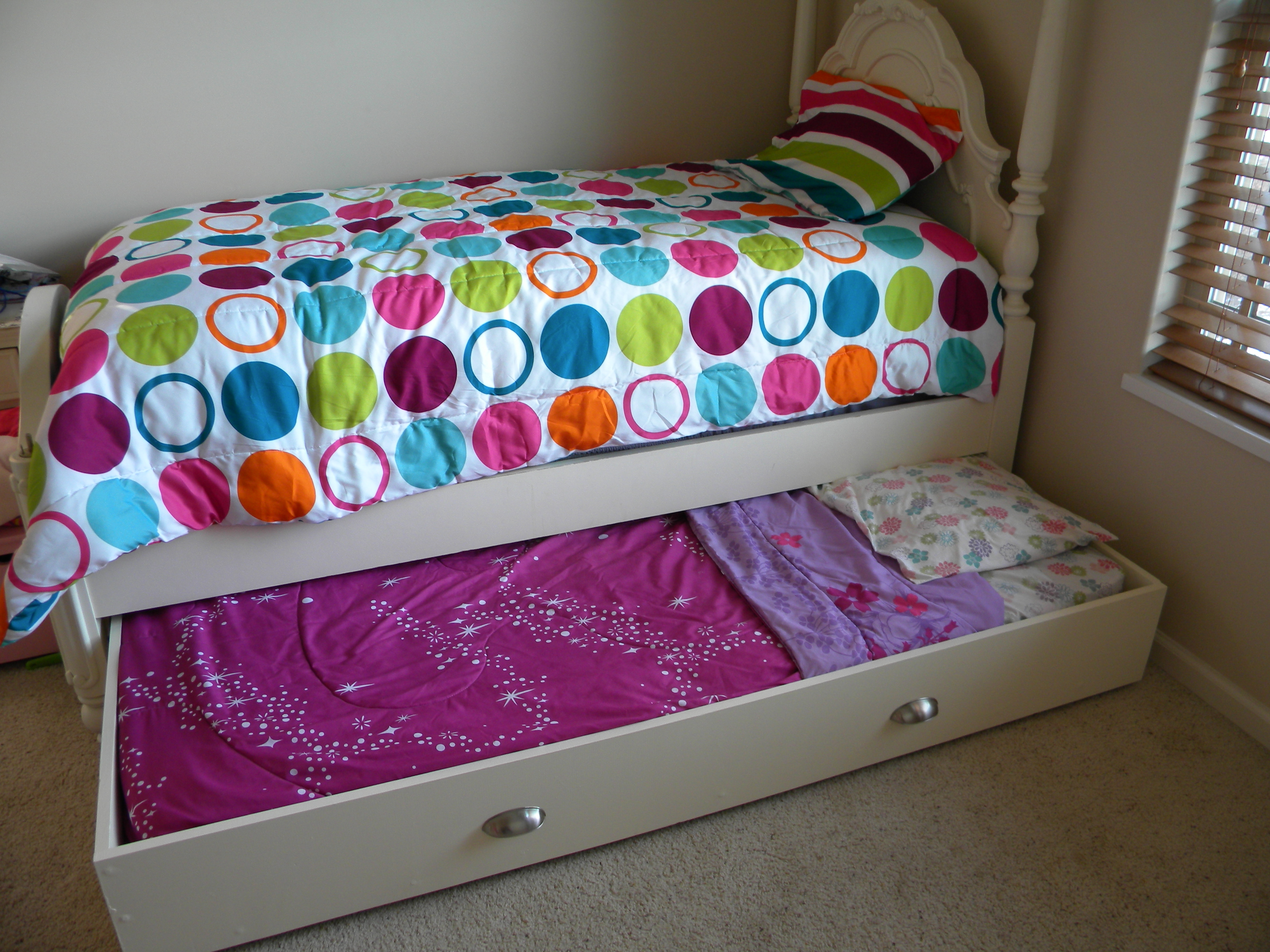 how to make a trundle bed diy
