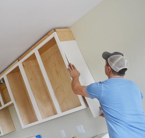 Finishing Details On Kitchen Cabinets Ana White