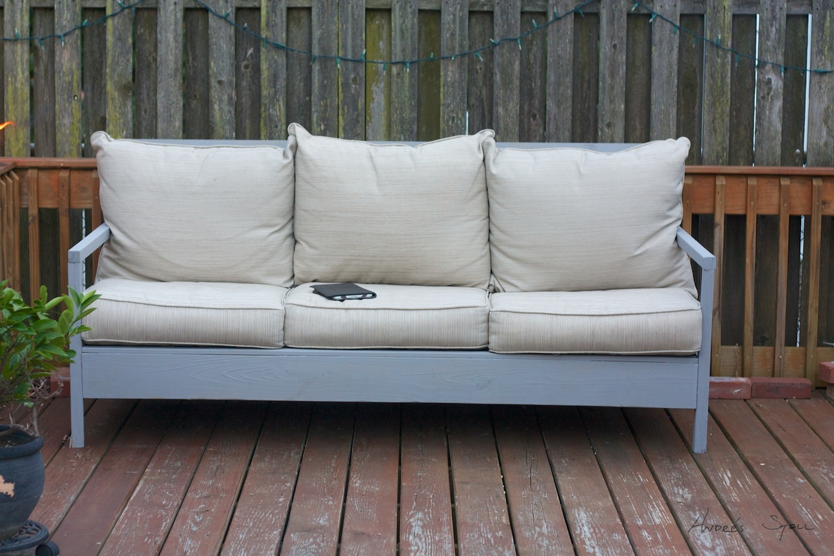 Ana White Outdoor Sofa Diy Projects