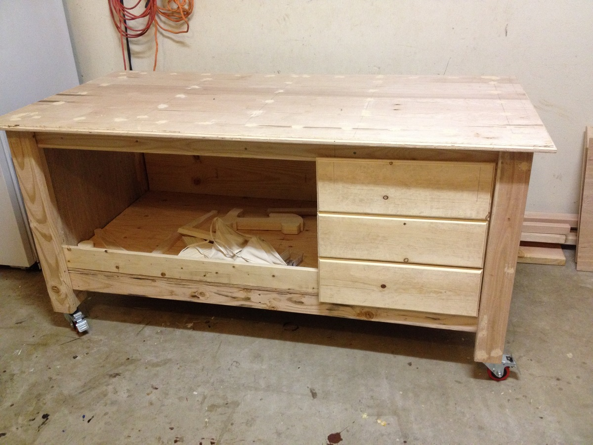 Ana White My Work Bench Diy Projects