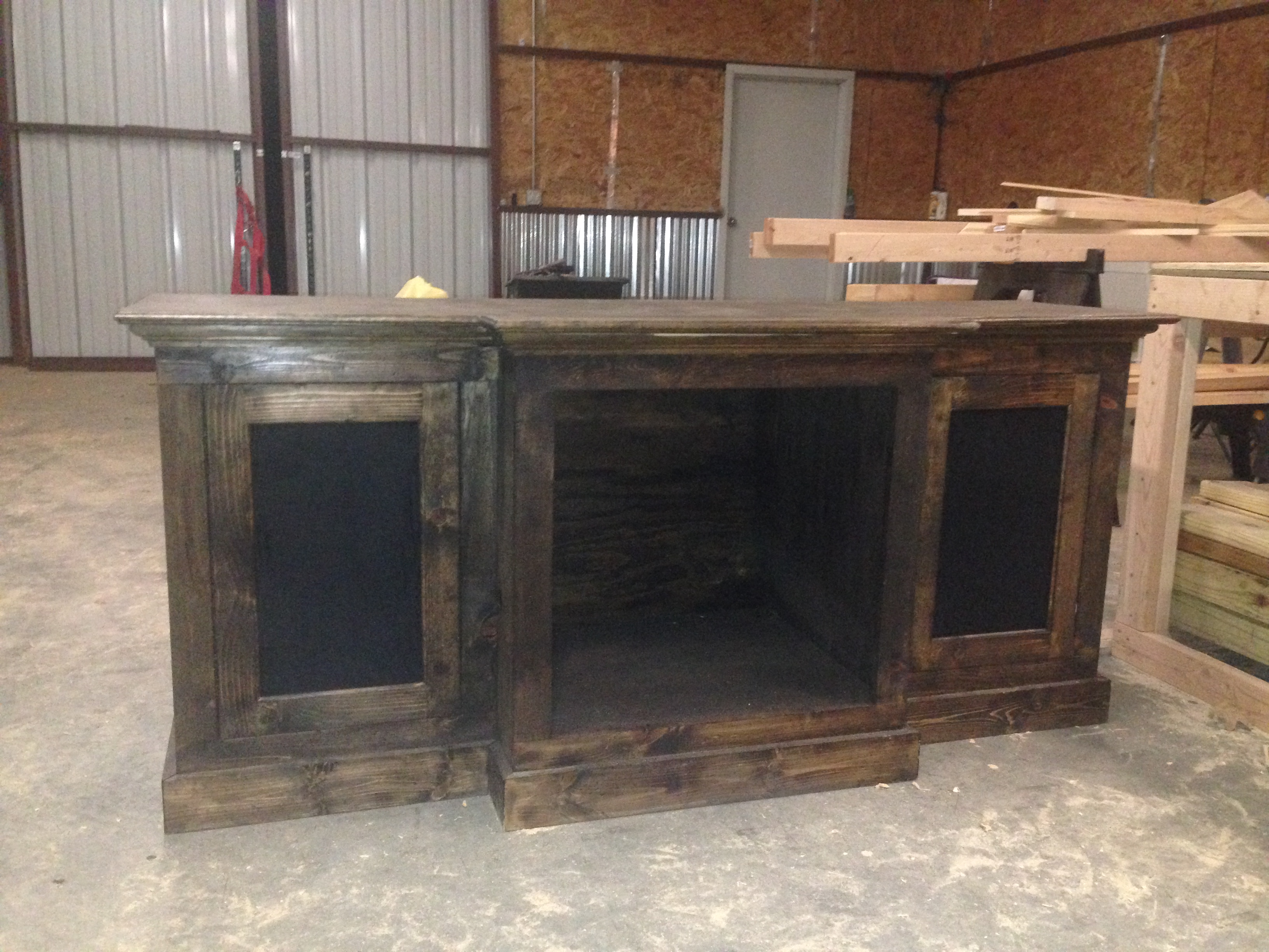 Restoration Hardware Inspired Media Console