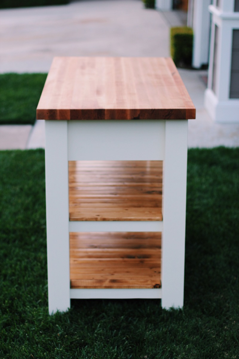 Ana White Butcher Block Kitchen Island - DIY Projects