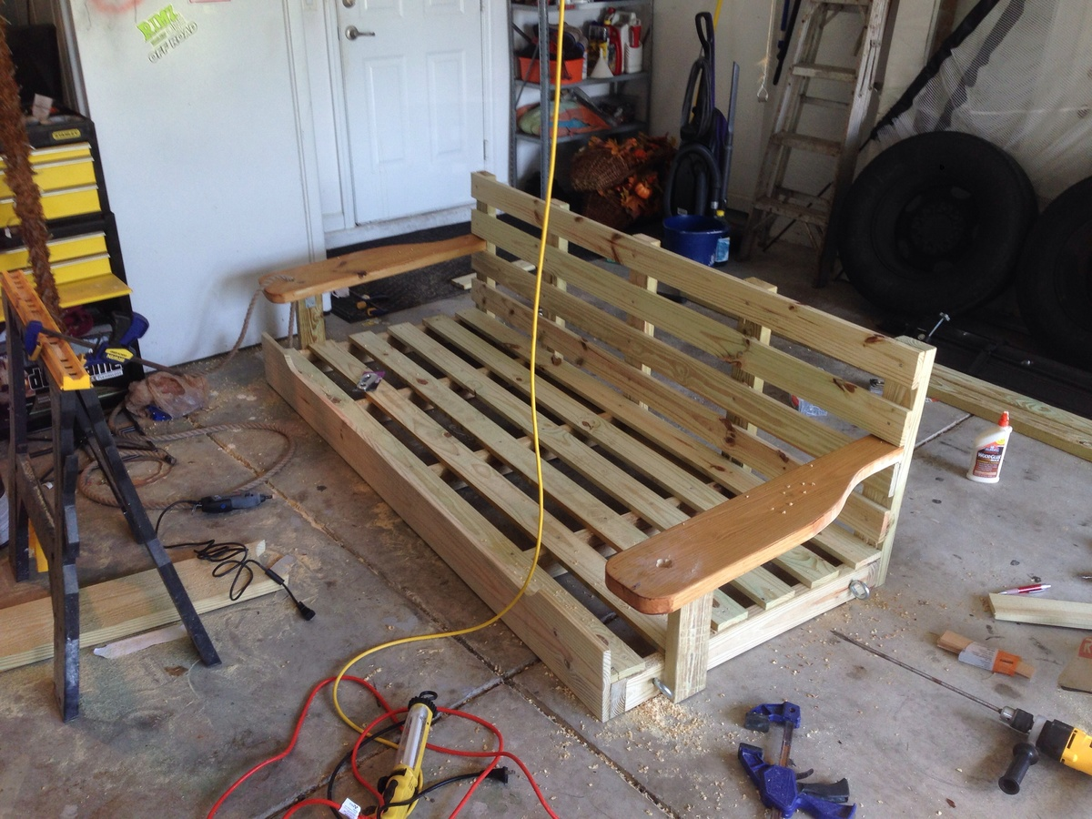 Porch Swing Bed Ana White