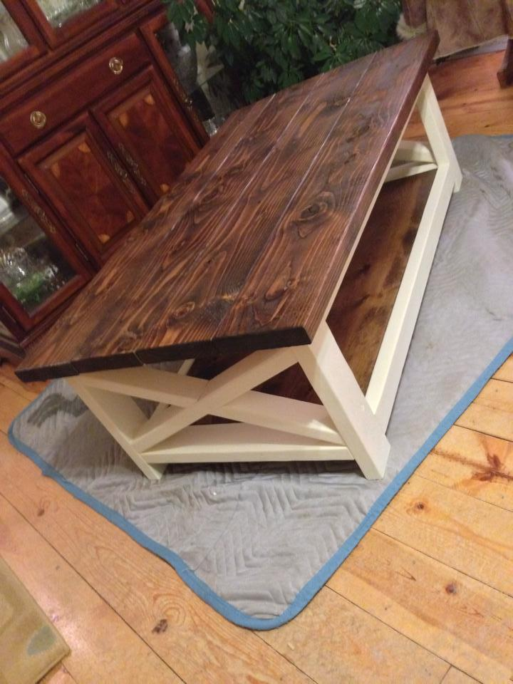 Ana WhiteRustic Coffee Table SuccessDIY Projects