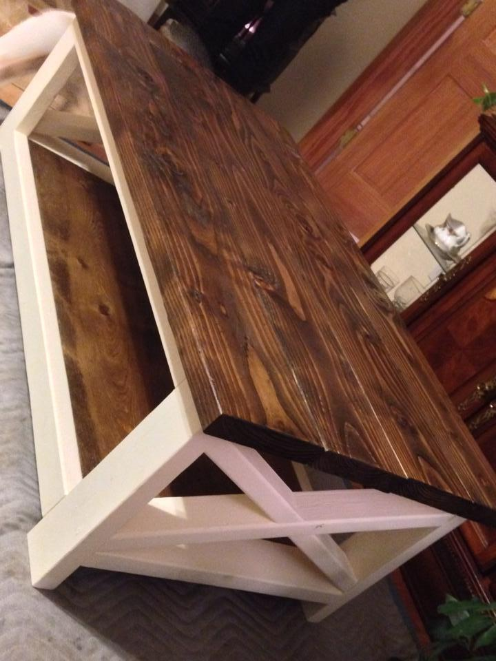 Ana White Rustic Coffee Table Success Diy Projects