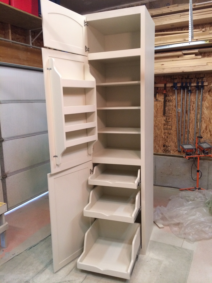 building a pantry cabinet | Ana White | Kitchen Pantry - DIY Projects