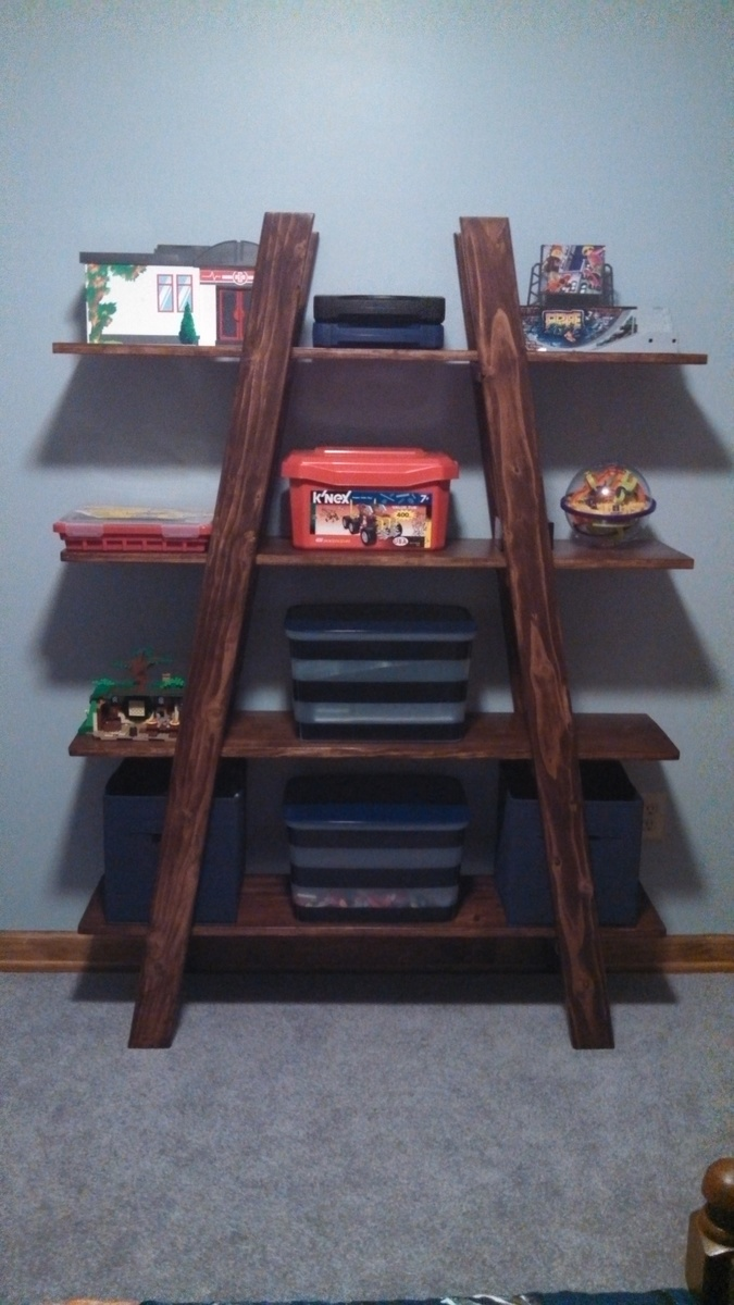 Ana White Truss Shelves For Boy S Room Diy Projects