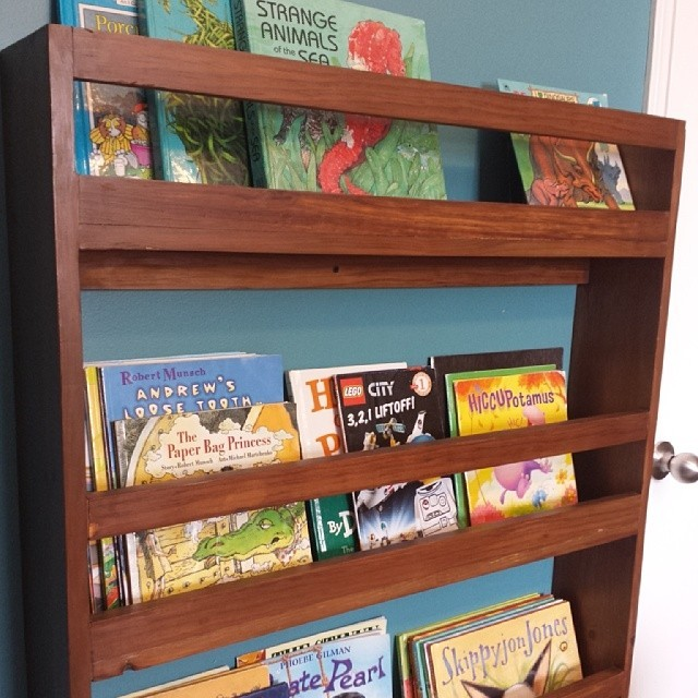 Ana White Modified Flat Wall Book Shelves Diy Projects