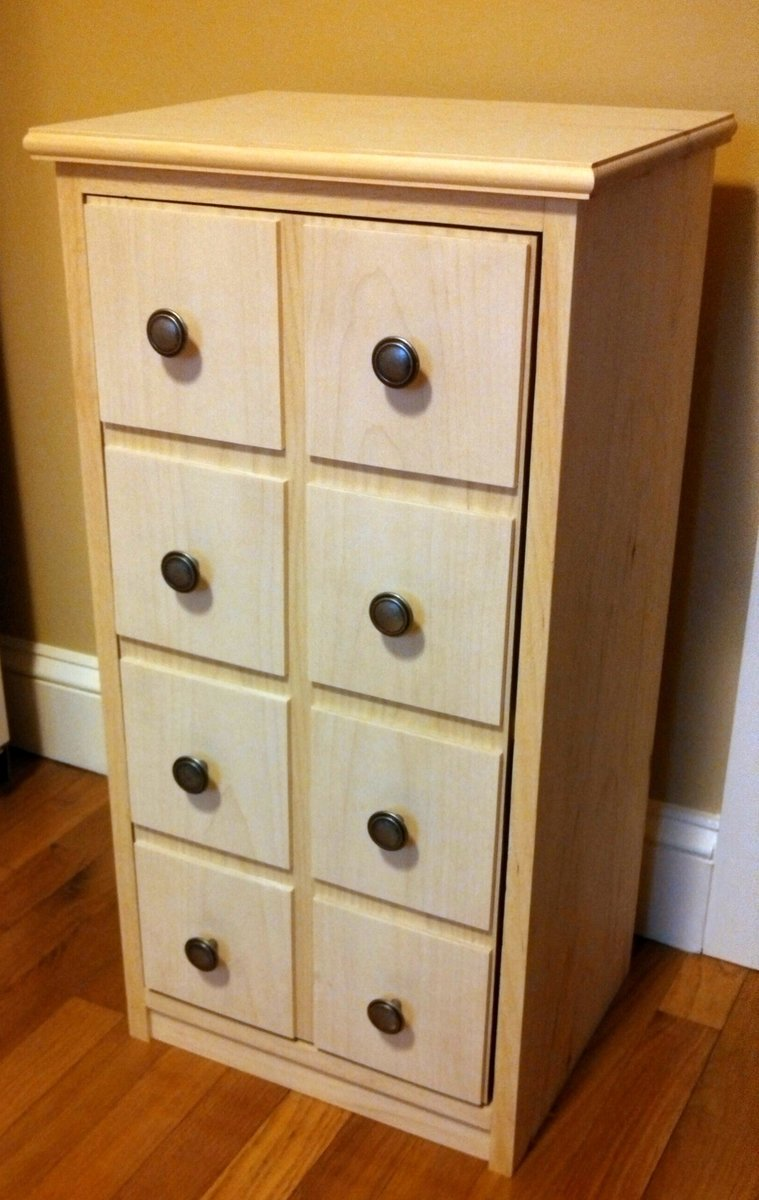 Ana white apothecary end table cabinet diy projects for Apothecary table