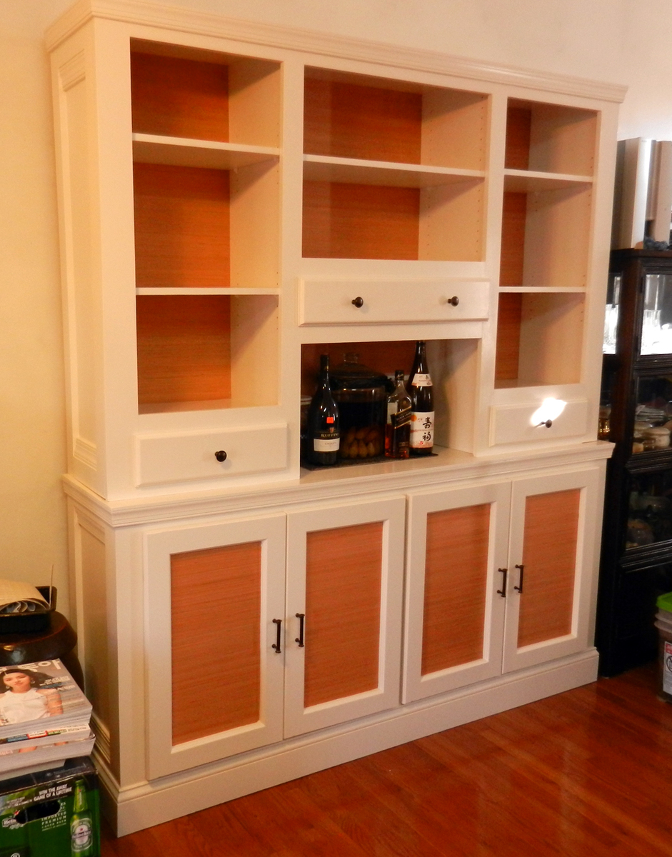 w sideboard with magnifier raw sonoma hutch standard