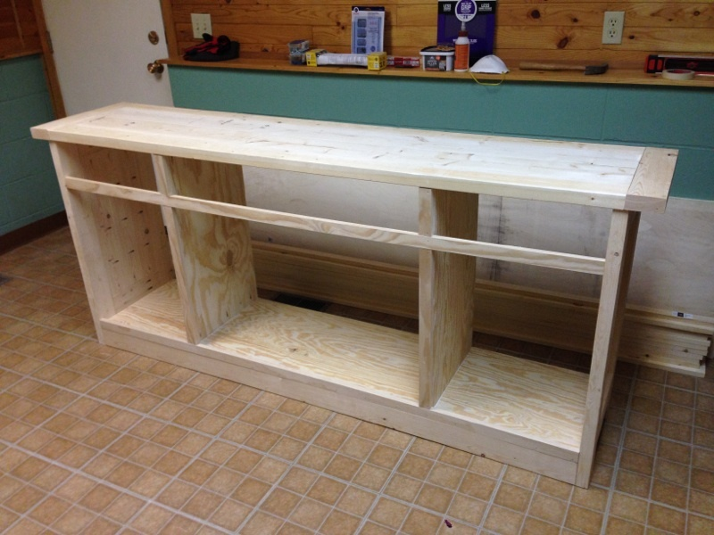 planked wood sideboard rustic yet refined