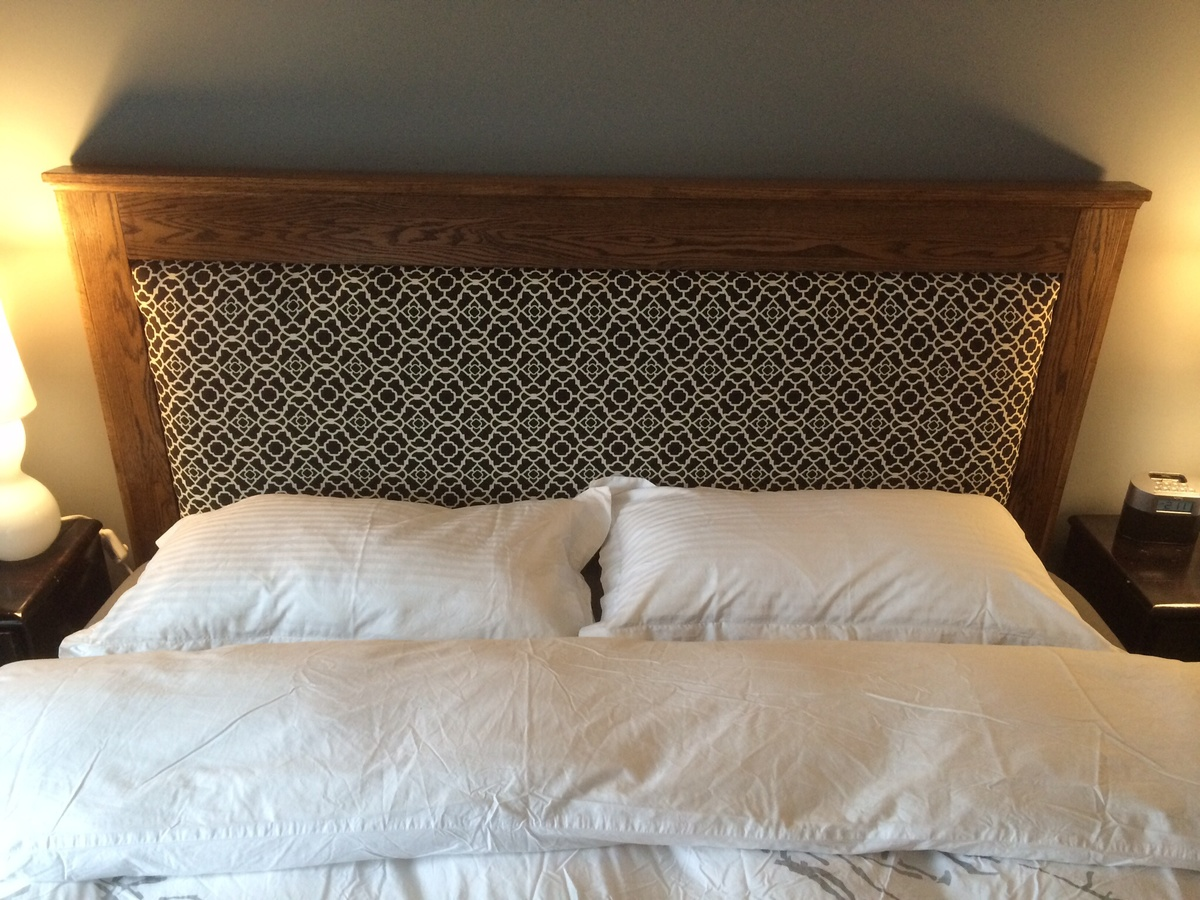 Ana White King Size Platform Bed And Headboard Diy