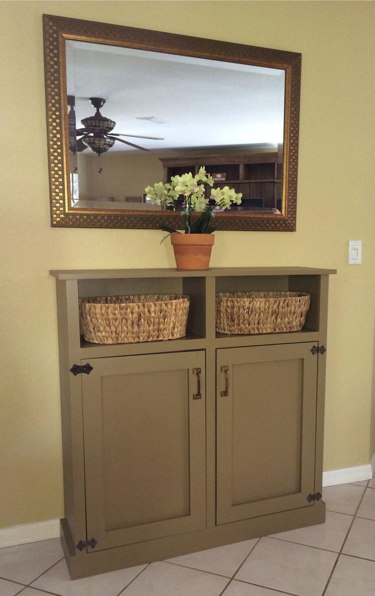Diy Wood Cabinet Plans