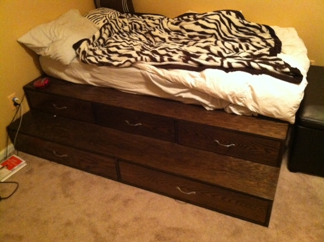 Ana White Step Up Bed Diy Projects