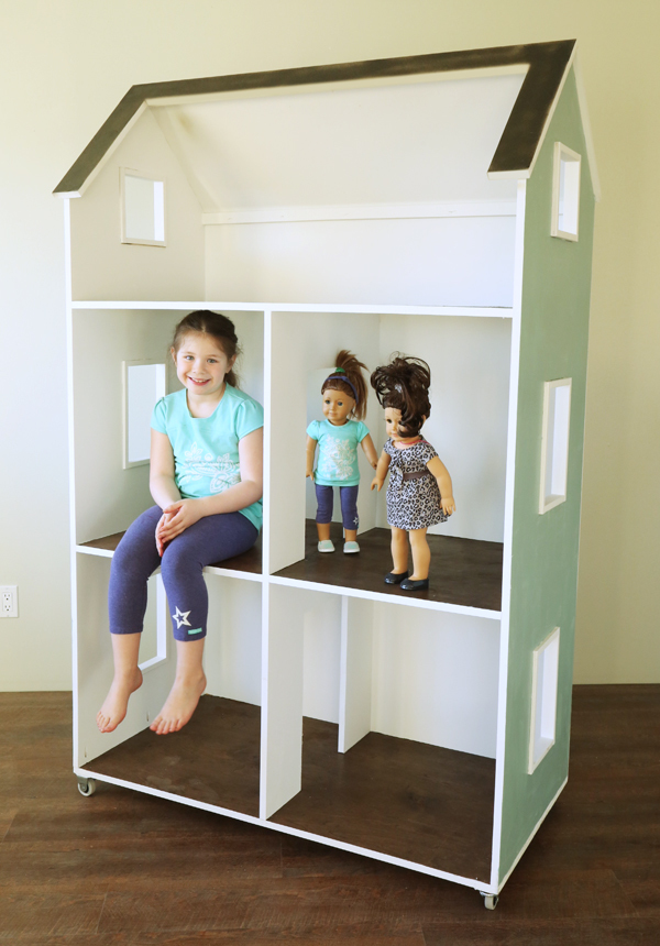 Ana White Three Story American Girl or 18 Dollhouse DIY Projects