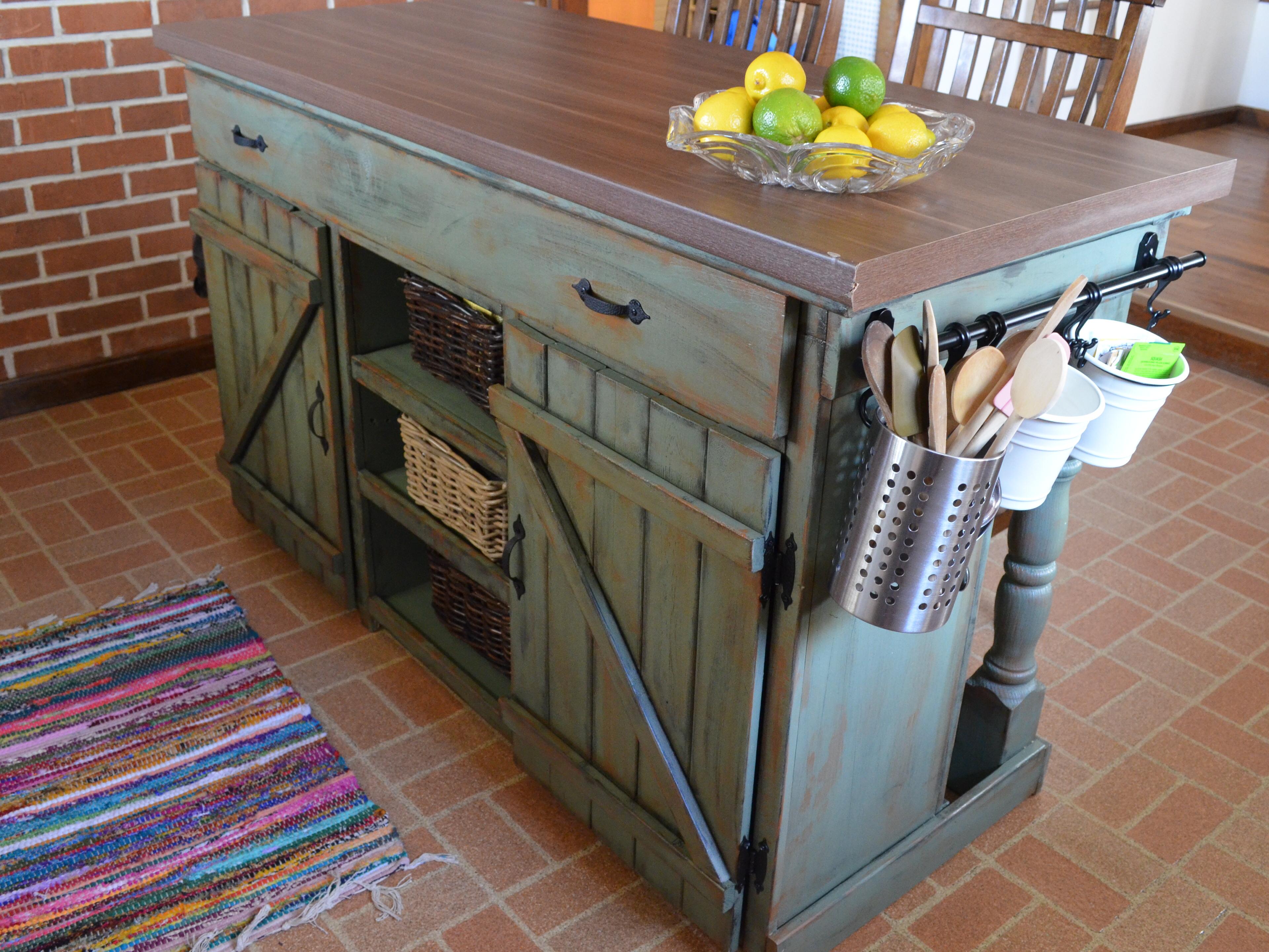 Farmhouse Kitchen Island Ana White