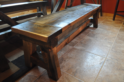ana white 4x4 farmhouse table with video diy projects