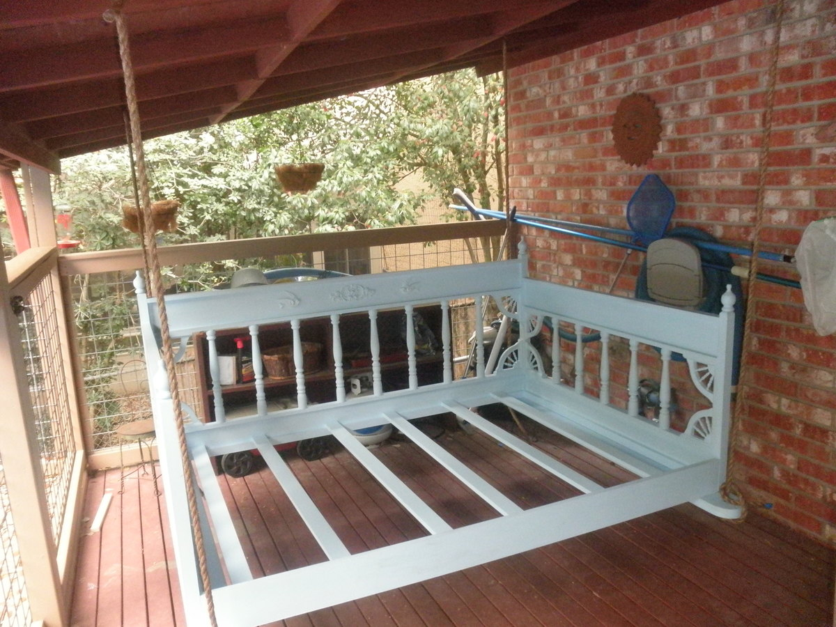 Ana White Our Porch Swing Bed Diy Projects