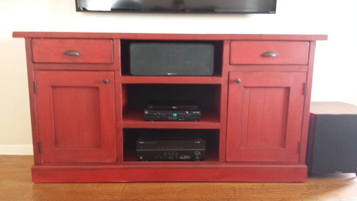 Ana White Sideboard Media Center Media Console Diy