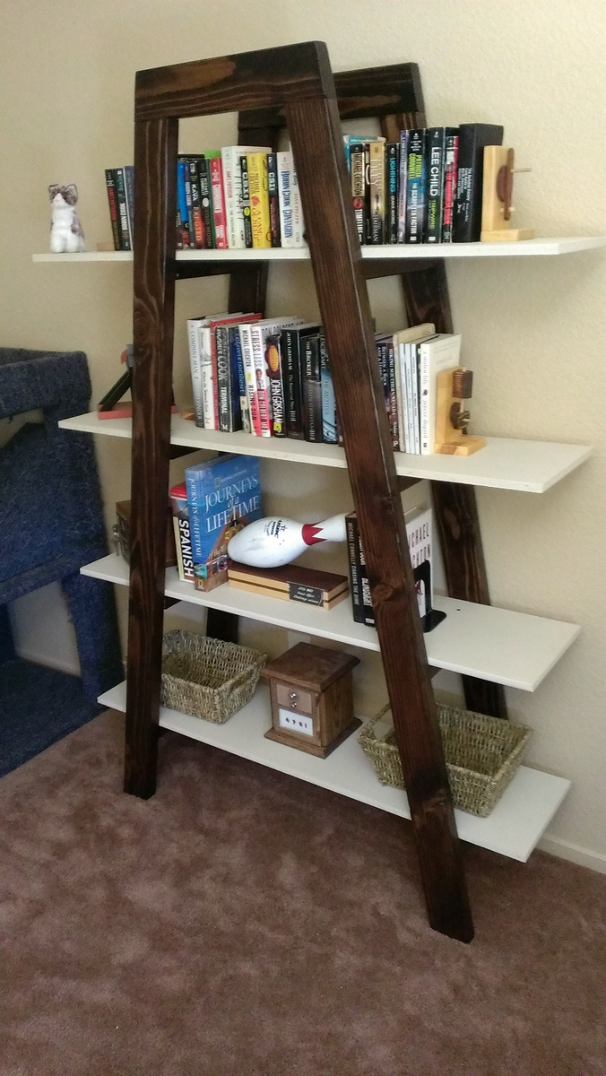 office xxx category do market furniture ladder wood two bookcases home farmhouse bookcase world bookshelves shelf