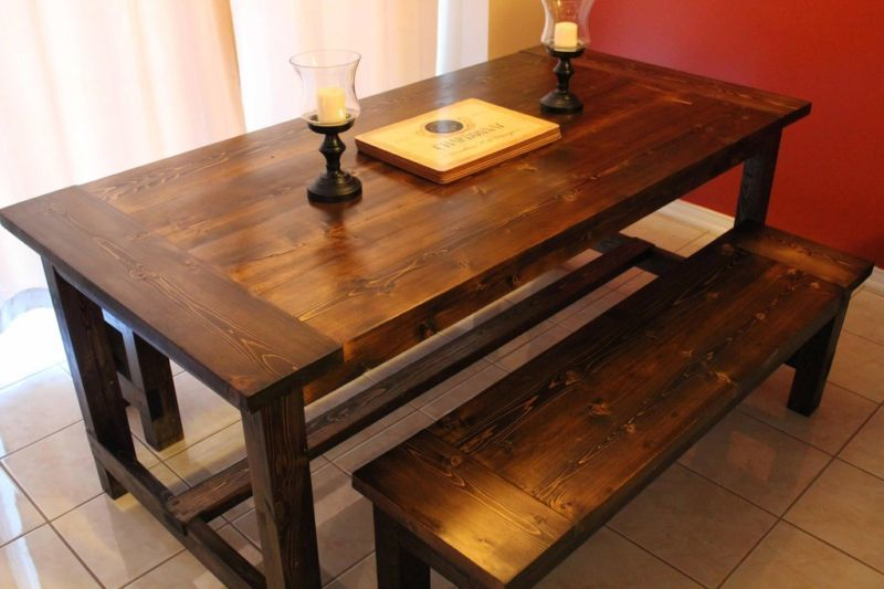 Ana White Farmhouse Dining Table DIY Projects : 31548442661397618879 from www.ana-white.com size 800 x 533 jpeg 55kB