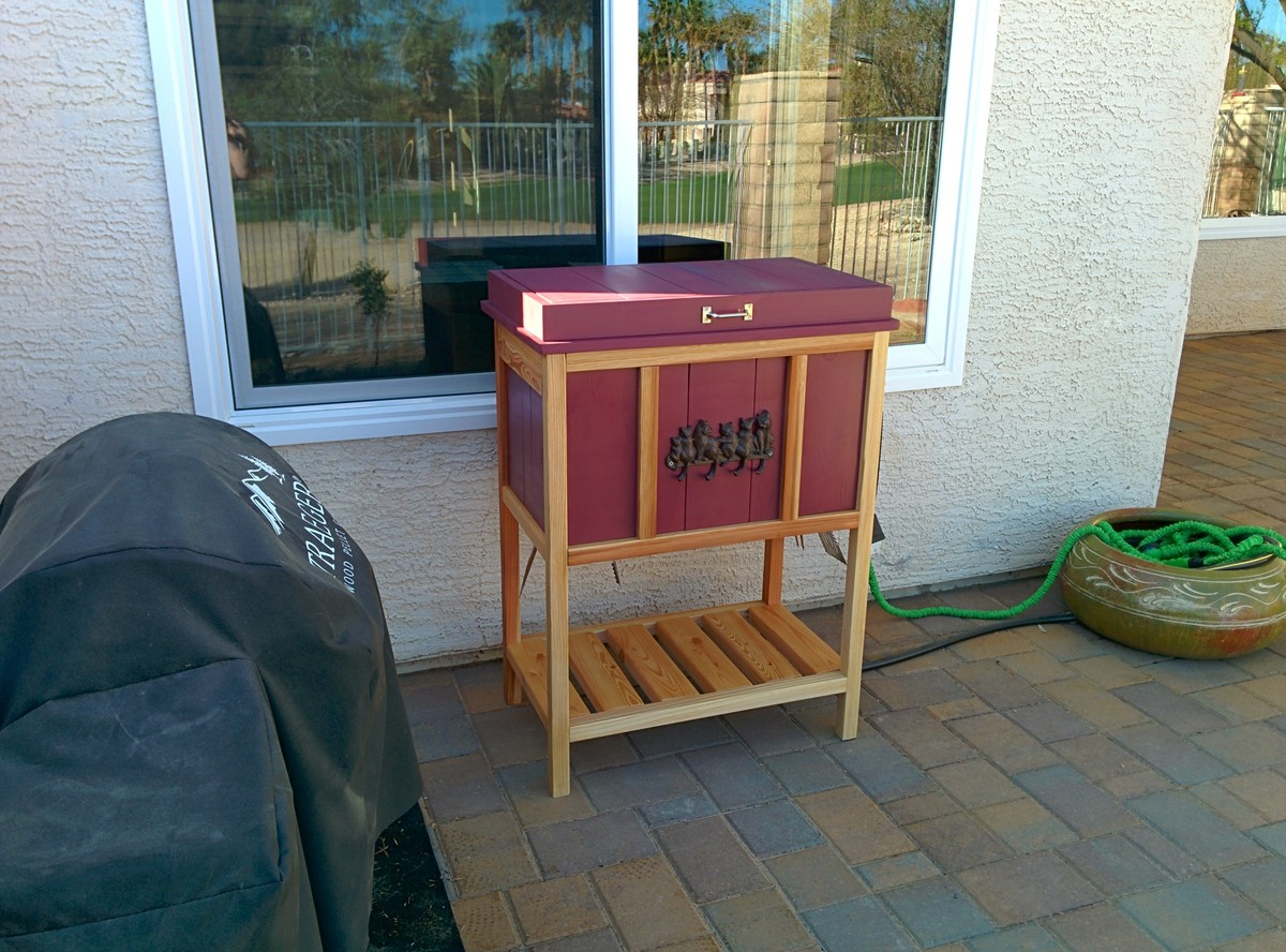 Grill Side Storage Chest